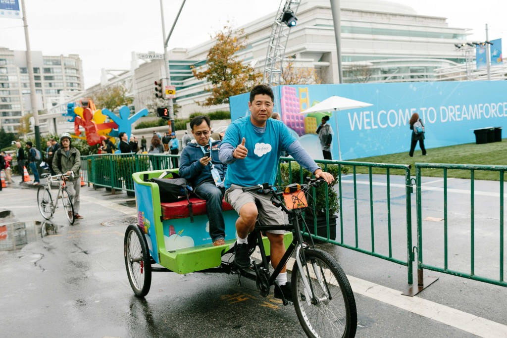 Dreamforce 2013 Breaks Records With 52 Pedicab Campaign